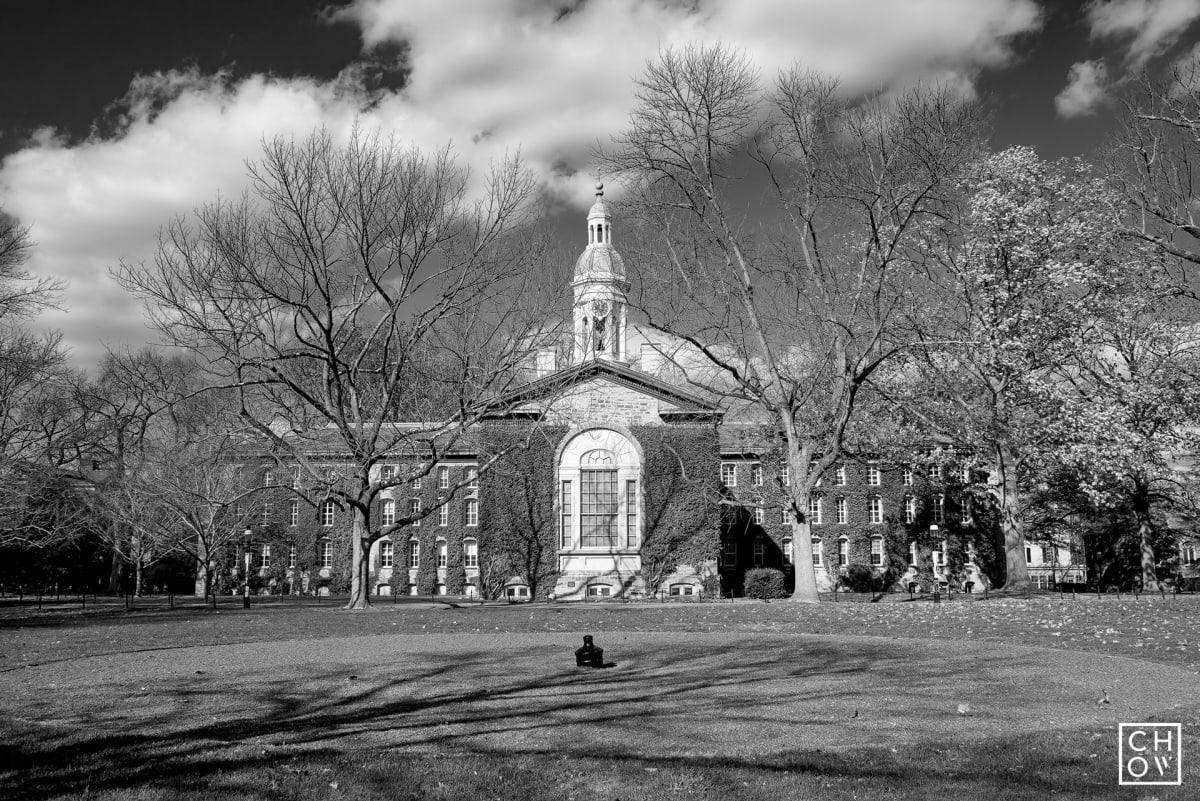 Austin Chow, Nassau Hall Rear Wing // Princeton University, 2017