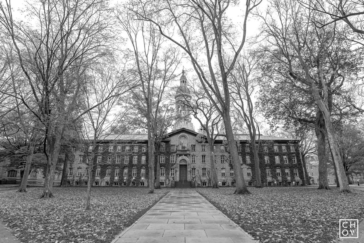 Austin Chow, Nassau Hall // Princeton University, 2017