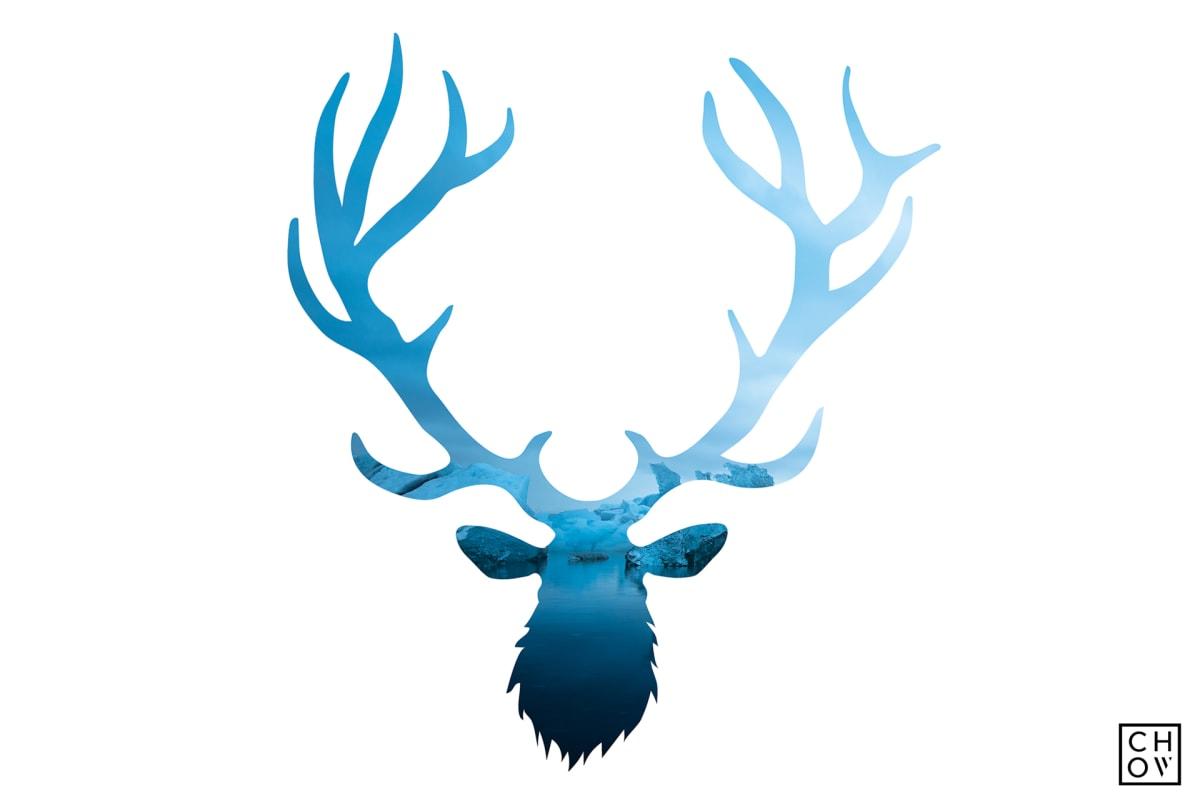 Austin Chow, Midnight Glacier // Elk Avatar, 2017