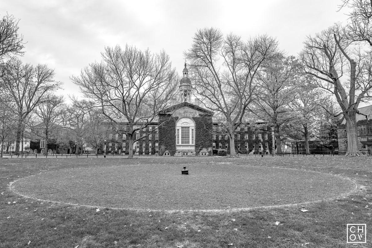 Austin Chow, Nassau Hall Canon // Princeton University, 2017