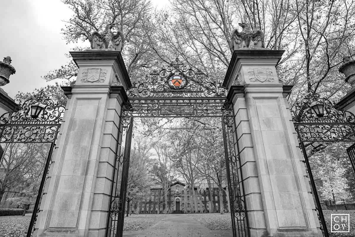Austin Chow, FitzRandolph Gate // Princeton University, 2017