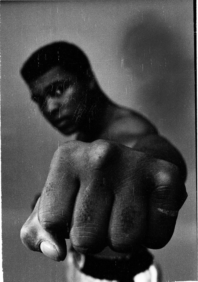 Thomas Hoepker, Ali's Left Fist, 1966