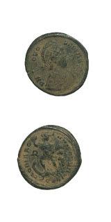 Roman Coins - emperor theodosius i