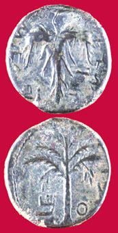 Jewish Coins - bar kochba revolt