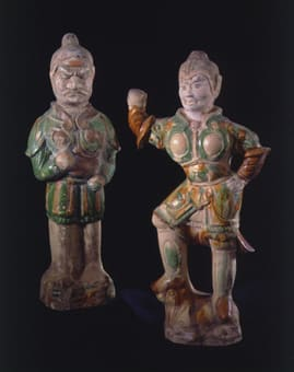 tang sancai-glazed works