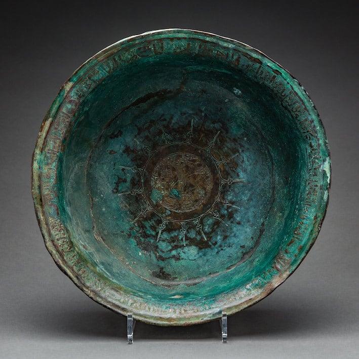 bronze basins