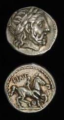 Greek Coins - philip ii coins