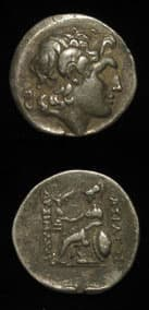 Greek Coins - lysimachos coins