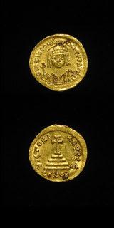 Byzantine Coins - emperor tiberius ii constantine