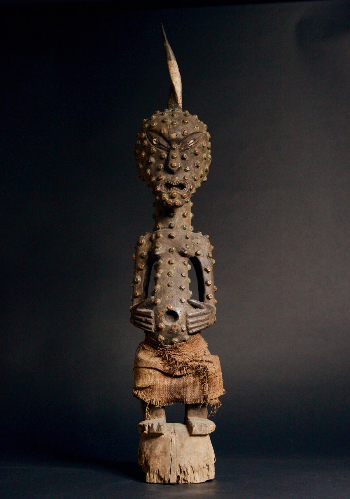 Songye Figure, 19th - 20th century Wood height 87 cm height 34 1/4 in