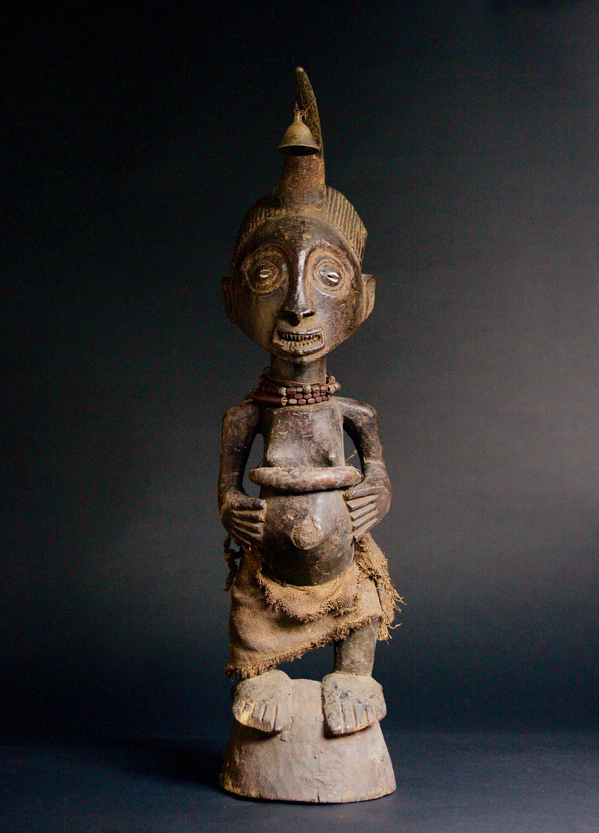 Songye Figure, 19th - 20th century Wood height 71 cm height 28 in