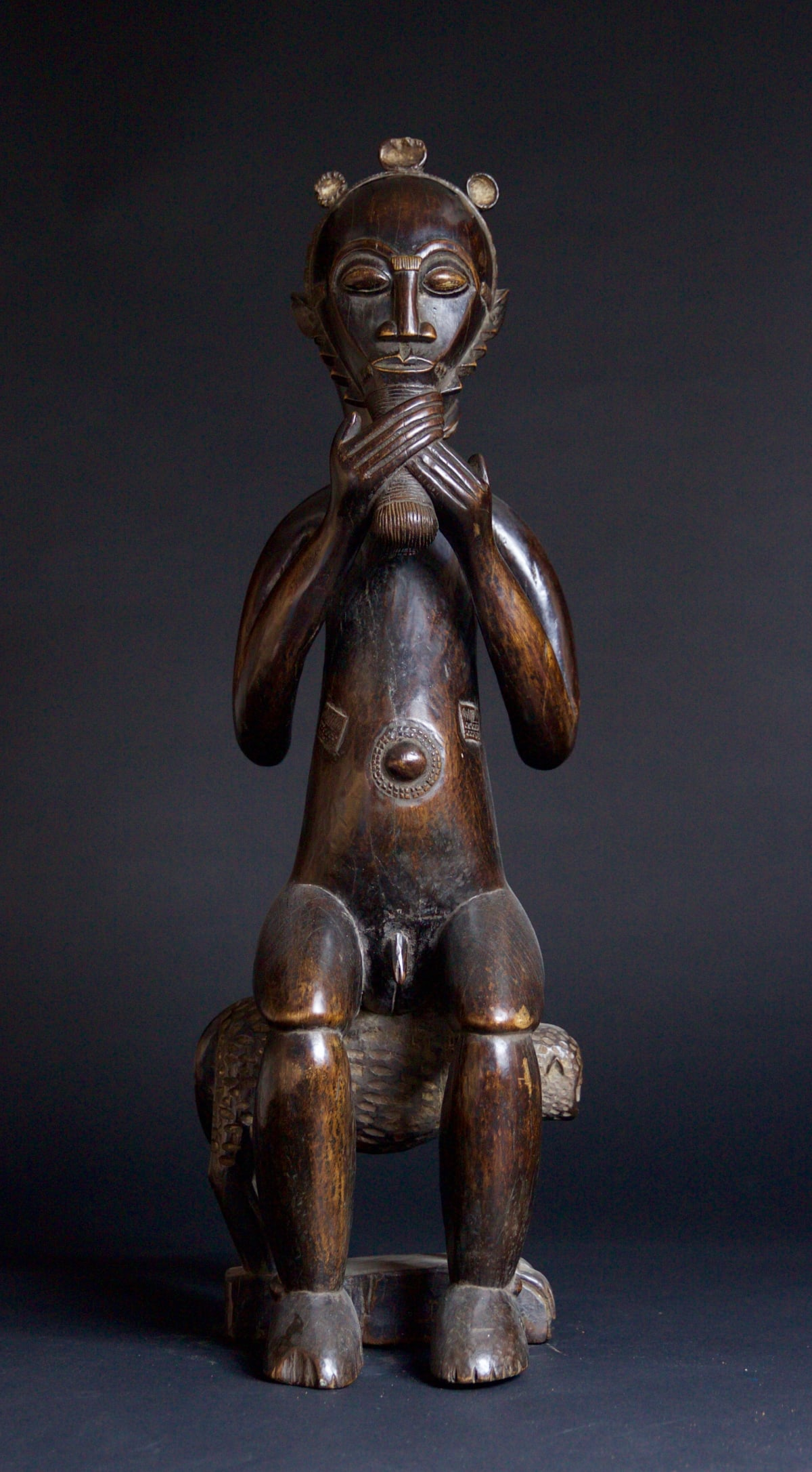 Baule Figure of a Man, 19th - 20th century Wood height 73 cm height 28 3/4 in