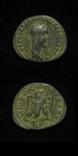 Roman Coins - emperor herennius etruscus