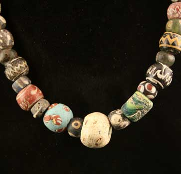 ancient beaded necklaces