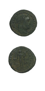 Roman Coins - emperor galerius