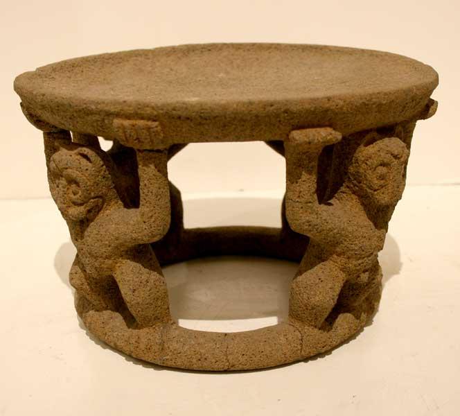 basalt metates and altars