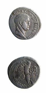 Roman Coins - emperor galba