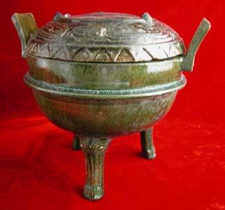 han glazed vessels