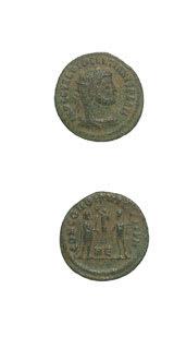 Roman Coins - emperor diocletian
