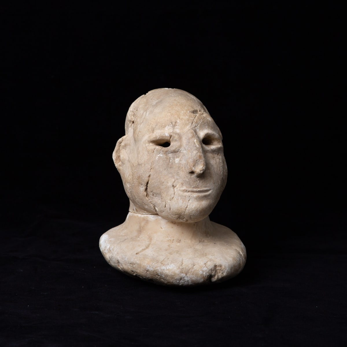 Bactria-Margiana Idol, 2500 BCE - 1800 BCE Stone 18 x 12 cm 7 1/8 x 4 3/4 in