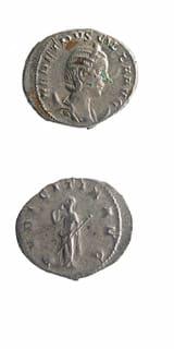 Roman Coins - empress herennia etruscilla