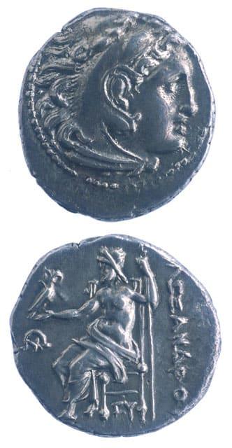 Greek Coins - alexander drachms