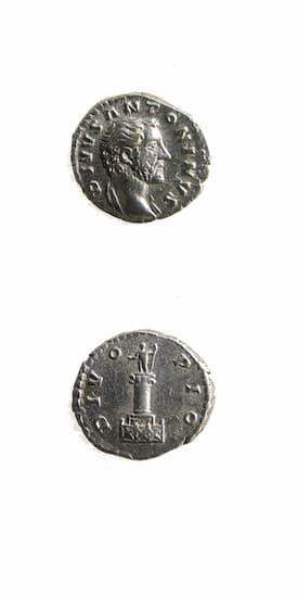 Roman Coins - emperor antoninus pius