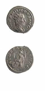 Roman Coins - emperor philip i the arab