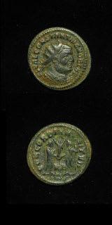Roman Coins - emperor constantius i chlorus