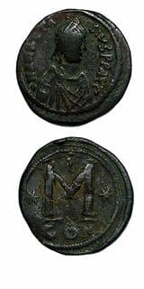 Byzantine Coins - emperor anastasius