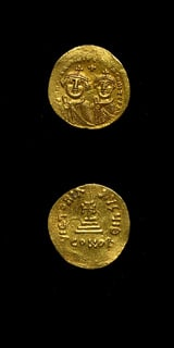 Byzantine Coins - emperor heraclius