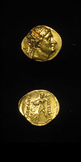 Greek Coins - bactrian gold coins