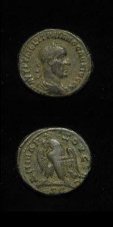 Roman Coins - emperor trajan decius