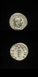 Roman Coins - emperor severus alexander