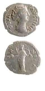 Roman Coins - empress faustina senior