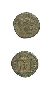 Roman Coins - emperor maxentius