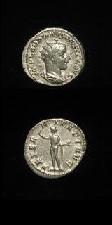 Roman Coins - emperor gordian iii