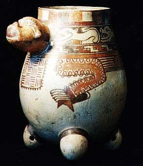 monkey effigy vessels