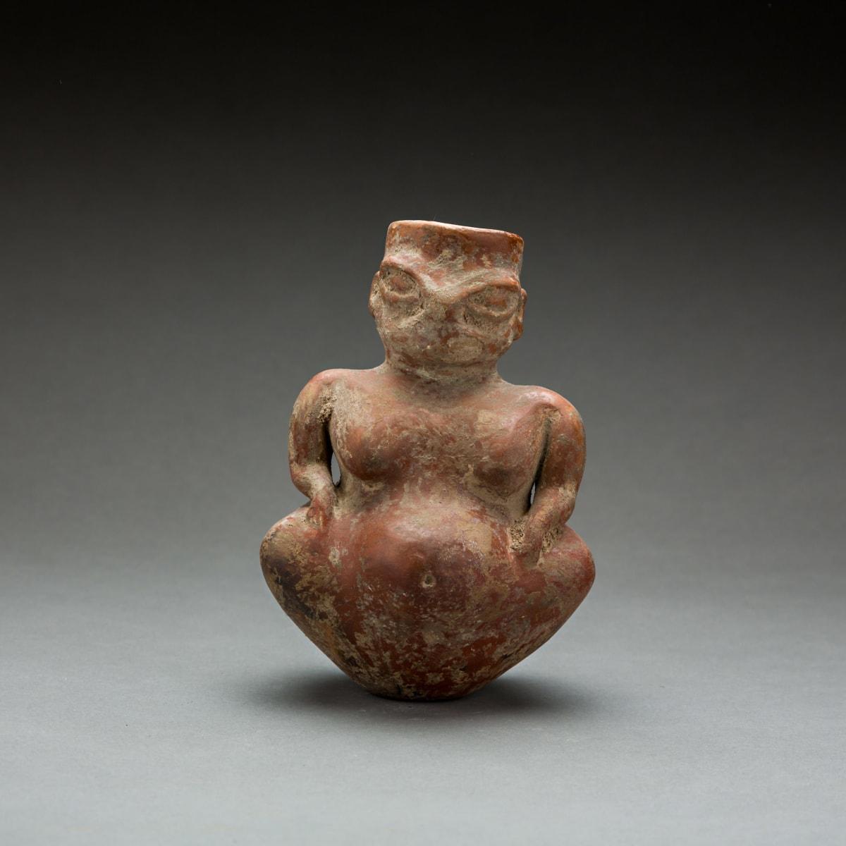 Neolithic Çatalhüyük Terracotta Fertility Goddess, 6000 BCE - 5000 BCE