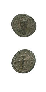 Roman Coins - empress salonina
