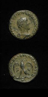 Roman Coins - emperor trebonianus gallus
