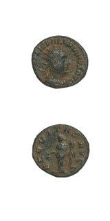 Roman Coins - emperor valerian i