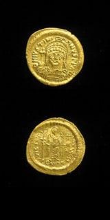 Byzantine Coins - emperor justinian i