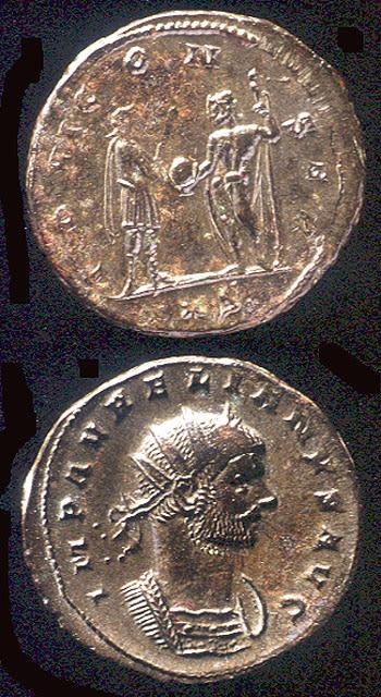 Roman Coins - emperor aurelian