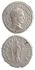 Roman Coins - emperor caracalla