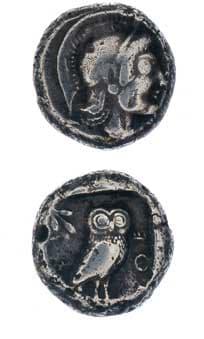 Greek Coins - athenian coins