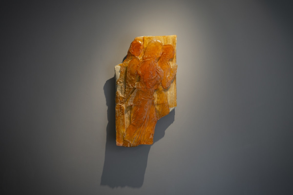 Meekyoung Shin Petrified Time: Angel, 2013 soap 75 x 43 x 10 cm 29 1/2 x 16 7/8 x 4 in