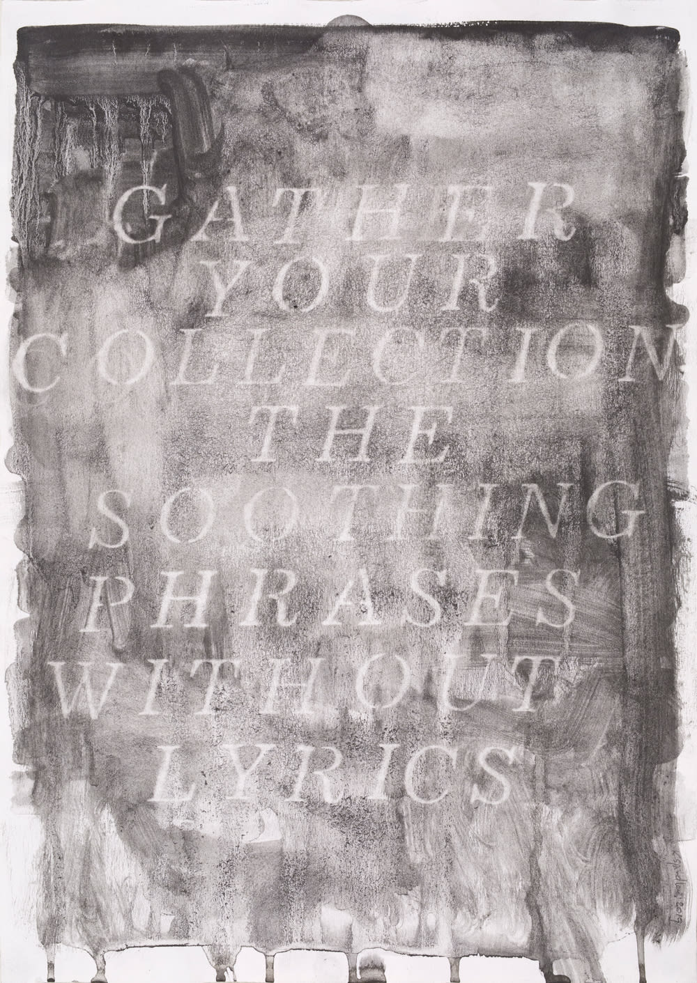 Katherine Spindler, The Soothing Phrases, 2019