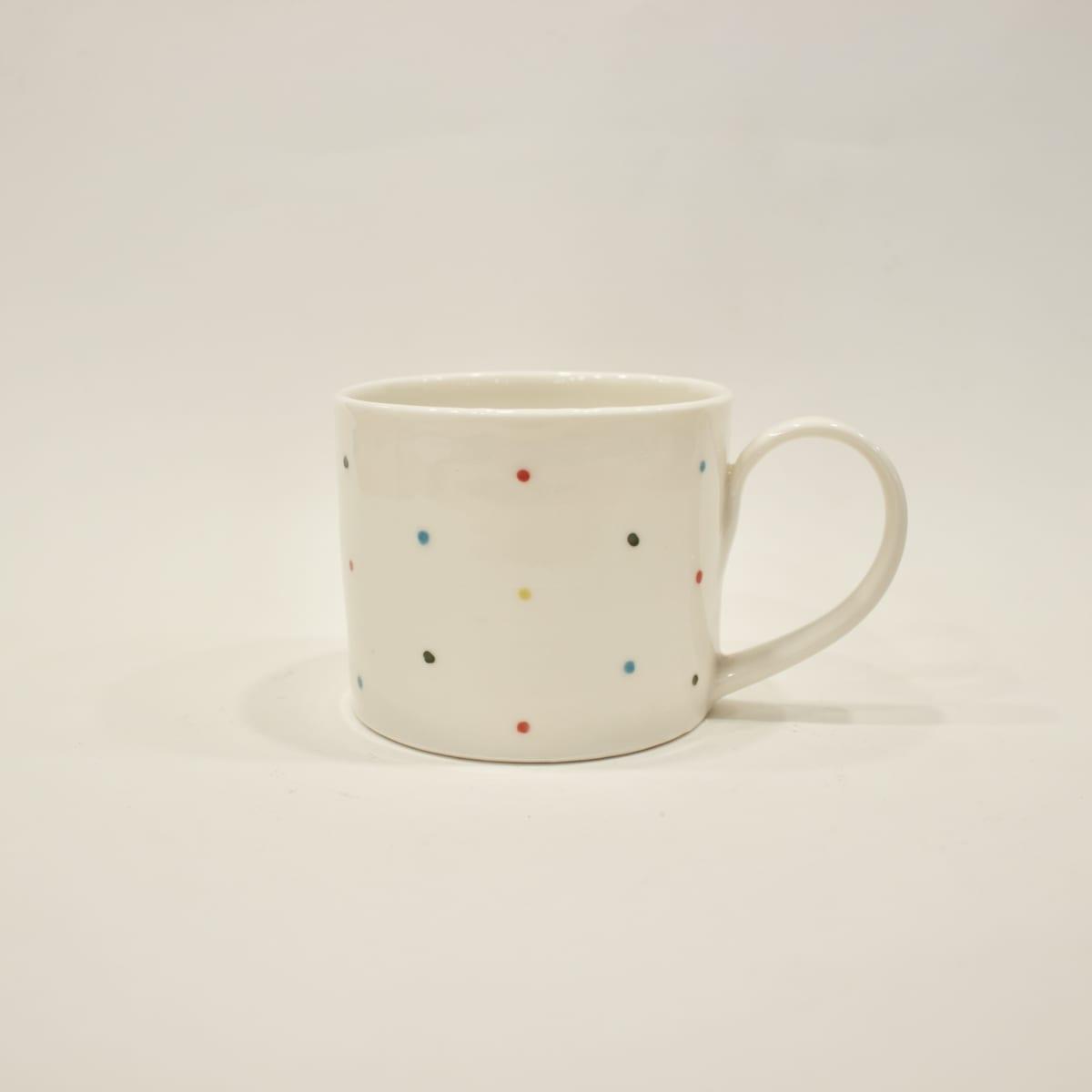 Abigail North Multispot Mug, 2019 Ceramic 7 x 13 x 9 cm 2 3/4 x 5 1/8 x 3 1/2 in