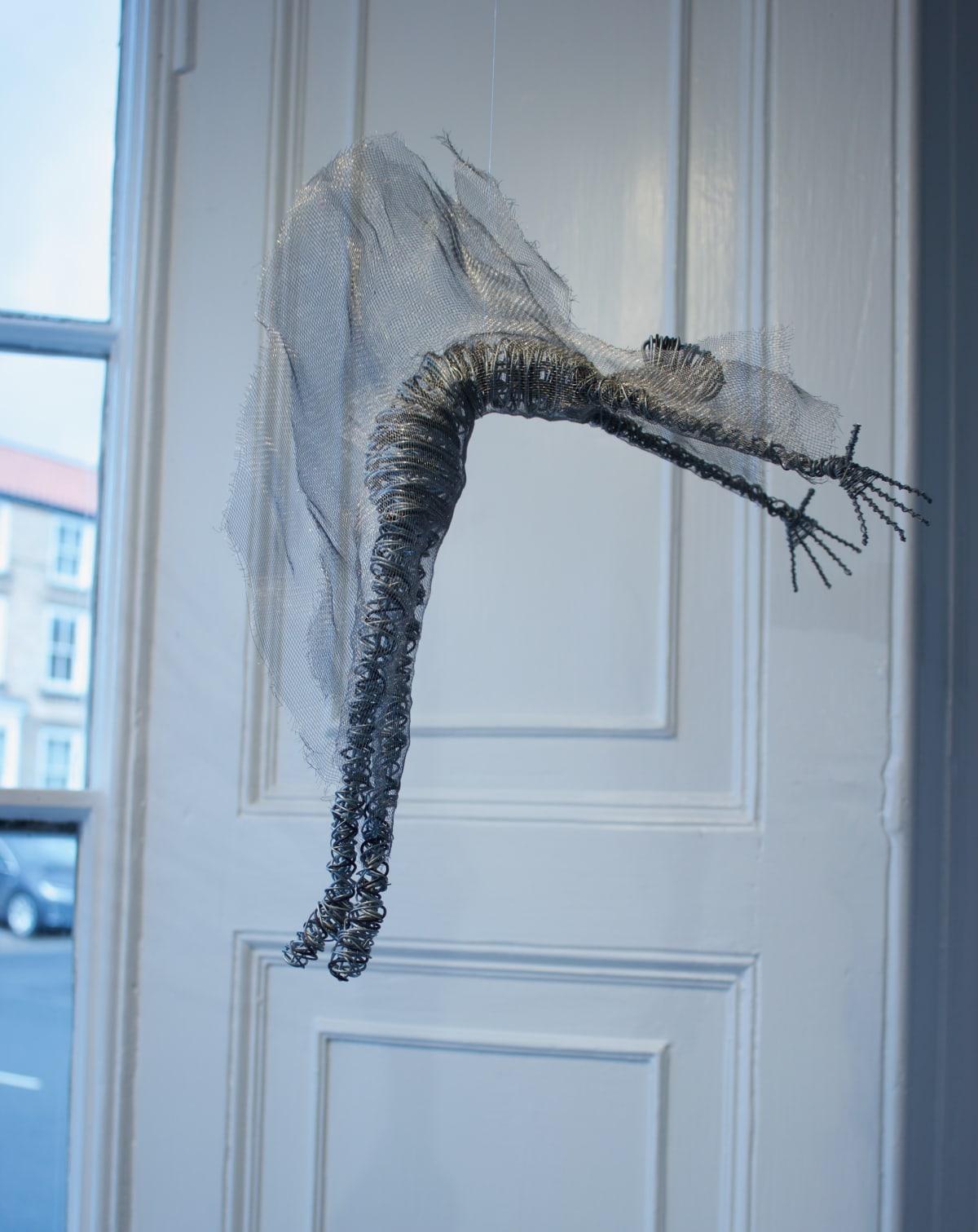 Rachel Ducker Mesh Dance - Suspended, 2019 Wire Sculpture